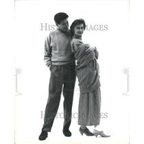 1990 Press Photo Fashion Men - RRR51577