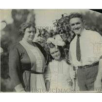 1921 Press Photo J. Killone With His Family - net21030