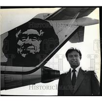 1982 Press Photo Alaska Airlines Chairman Bruce Kennedy - oro01050