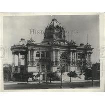 1928 Press Photo Monroe Palace in Rio de Janeiro Brazil - spa32101
