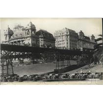 1930 Press Photo Main Business District Sao Paulo Brazil - spa32123