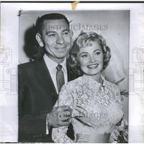 1958 Press Photo Jack Webb Wife Jackie Houghery - RRR52505