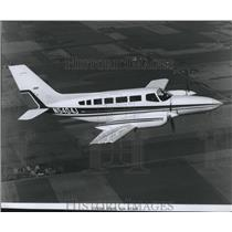 1975 Press Photo Airplane Cessna Model 404 Titan - spa33074
