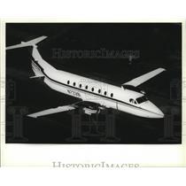 1987 Press Photo Airplane Beechcraft Beech 1900 Exec-Liner - spa33084