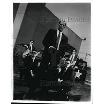 1992 Press Photo Steven Ford hosts Secret Service, NBC drama series. - spp02092