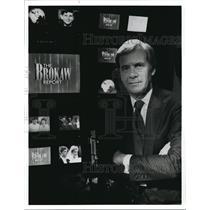 1992 Press Photo Tom Brokaw on The Brokaw Report: Families in Crisis.