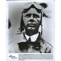 1991 Press Photo Charles Lindbergh is profiled on The American Experience.