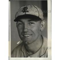 1931 Press Photo St Louis Browns rookie pitcher Forrest Pressnell - nes51632