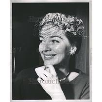 1960 Press Photo Actress Joan Weldon - RRR53377