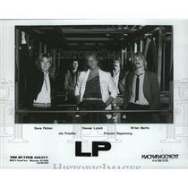 1984 Press Photo Dave Patten, Jim Praefke, Steven Lynch and Brian Merlin of LP.