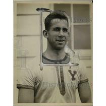 1926 Press Photo Howard Kingsbury captain of Yale University crew - net23209