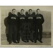 1929 Press Photo Colgate University Relay Team winners of 1 Mile Event