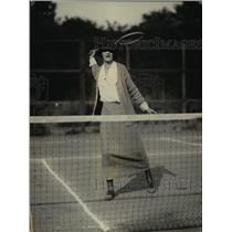 1923 Press Photo Inga Bryn daughter of Norway's Minister at tennis match