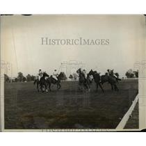 1928 Press Photo Polo game, Bond Club of New York's Field Day at Westchester CC
