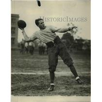 1924 Press Photo Lakewood footbal player Clay Muller at quarterback - net24083