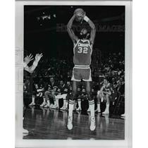 1978 Press Photo Denver basketball player Bob Wilkerson in action - net24087