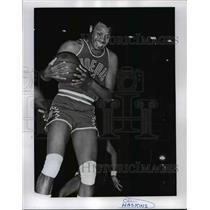 1971 Press Photo Clem Haskins of Phoenix basketball team - net24101