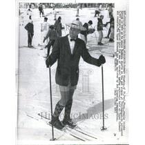 1935 Press Photo Skiing Fashions - RRR56889