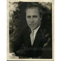 1930 Press Photo George Walberg, Philadelphia Athletics - net24898