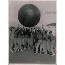 1918 Press Photo game of Push Ball played at U.S. Navy Yard, Mare Island, CA