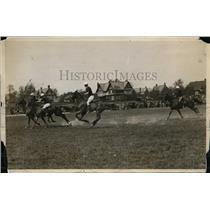 1926 Press Photo Princeton vs West Point Army at polo in New Jersey - net25216