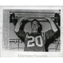 1967 Press Photo Safety Jerry Logan of the Baltimore Colts. - mjs03449