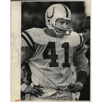 1969 Press Photo Baltimore's Tom Matte leads NFL scoring with 66 points.