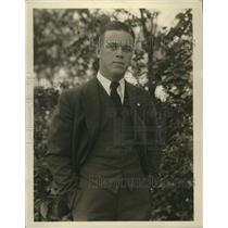 1930 Press Photo Glenn Liebhardt, Jr. of the Philadelphia Athletics - nes52194