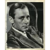 "1939 Press Photo Herbert Marshall heads the ""Hollywood Playhouse"" - mjx13925"