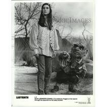 1986 Press Photo Jennifer Connelly in the movie Labyrinth - spx07253