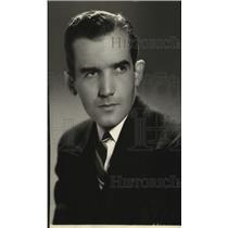 1939 Press Photo Edward R Murrow European director of CBS - spx07449