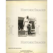 1936 Press Photo Scene from film Reunion - nera10971