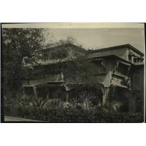 1920 Press Photo A house in Ormond Beach, Florida owned by John D. Rockefeller