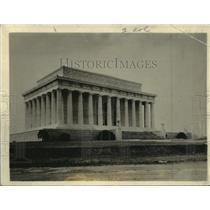 1922 Press Photo Lincoln Memorial, Washington DC - mjx15943