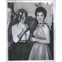 1954 Press Photo Gina Lollobrigida Actress - RRR69091