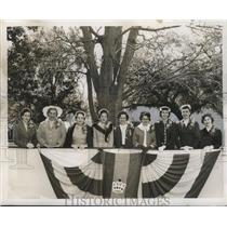 1956 Press Photo Krewe of Thoth, Mardi Gras, New Orleans - noca00131