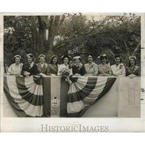 1955 Press Photo Krewe of Thoth, Mardi Gras, New Orleans - noca00132