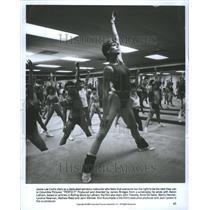 1985 Press Photo Jamie curtis aerobics instructor bes - RRR77367
