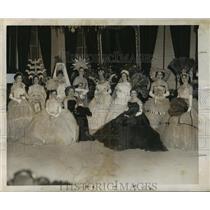 1956 Press Photo Miss Lorraine Frances Centanni Reigns Queen of Krewe Alpheus