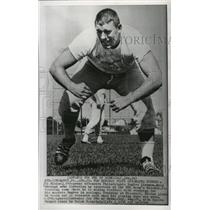 1966 Press Photo Ed Blaine, 240 pound offensive Philadelphia Eagles lineman
