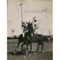 1923 Press Photo Del Monte Field Polo Match