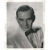 1960 Press Photo Actor Milt Ross - RRR78353
