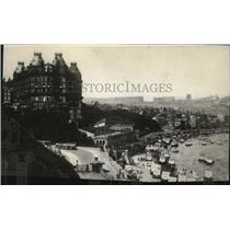 1914 Press Photo Scarborough Spa in England bombed by Germany