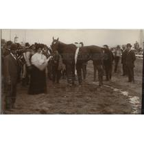 1907 Press Photo Derby Queen's Spokane Interstate Fair - spx09141
