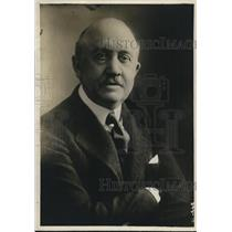 1918 Press Photo Chairman of the Naval Consulting Board, W.L. Saunders.