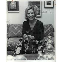 1973 Press Photo Mrs Arthur Mayer of Natl Council Jewish Women - cva33651