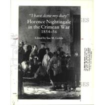 1988 Press Photo Florence Nightingale in the Crimean War 1854-56 - cva33810