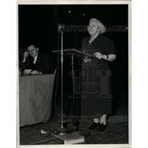 1938 Press Photo Ella Reeve Bloor Making Speech - nef26158