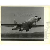 1967 Press Photo B-1 Bomber Airplane - cva37705