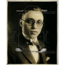 1925 Press Photo L.E. Judd Editor of Akron Times in Akron Ohio - nef26560